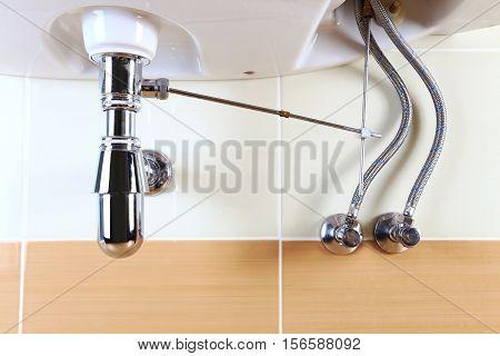 Clean Washbasin Sink