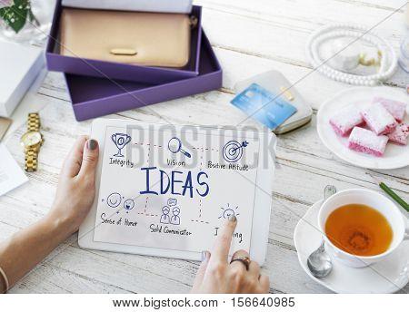 Teamwork Goals Ideas Creativity Concept