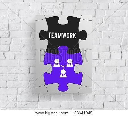 Team Building Collaboration Partenrship Cooperation Concept