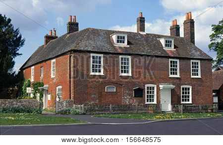 Jane Austen House, Chawton, England. Authoress home.