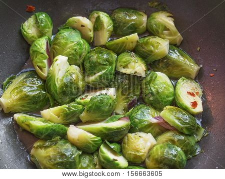 Brussels Sprout Cabbage Vegetables