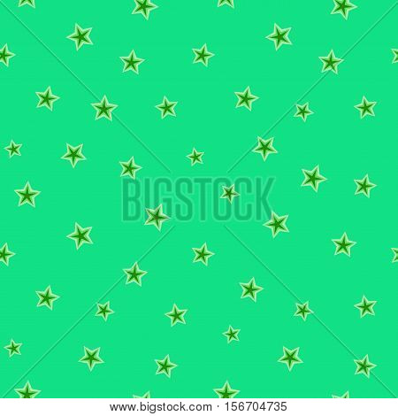 Stars chaotic seamless pattern. Fashion graphic background design. Modern stylish abstract texture. Color template for prints textiles wrapping wallpaper website Stock etc VECTOR illustration
