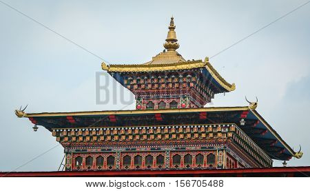 Details Of Bhutanese Buddhist Temple