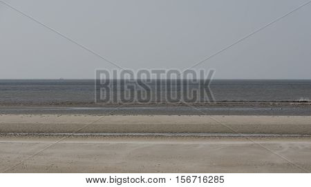 beach of Sankt Peter-Ording on the North Sea