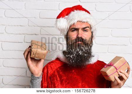 Hipster Santa Claus