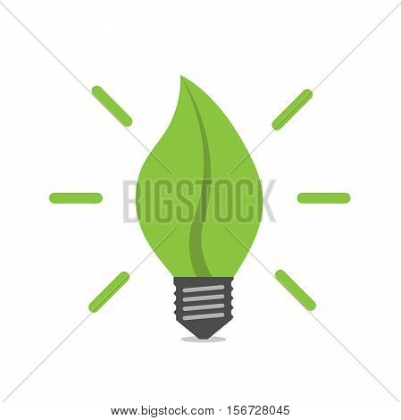 Leaf Shaped Light Bulb