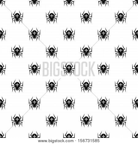 Spider pattern. Simple illustration of spider vector pattern for web