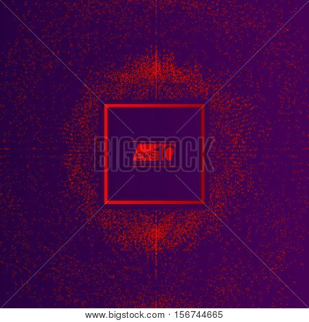 3D Red and Purple Abstract Mesh Background with Circles, Lines and Shapes | EPS10 Design Layout