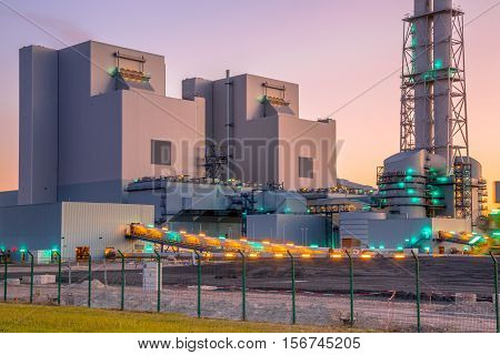 New Coal And Biomass Powered Plant