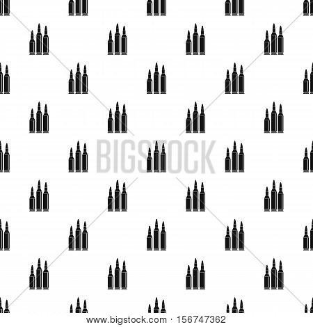 Bullets pattern. Simple illustration of bullets vector pattern for web