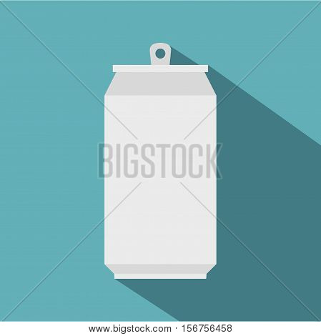 Can icon. Flat illustration of can vector icon for web