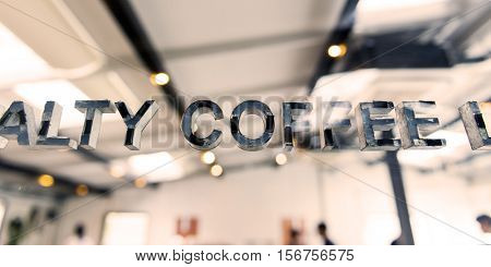 Coffee Shop Cafe Restaurant Bistro Freshness Concept