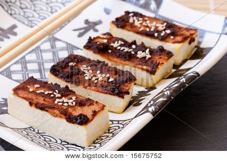 Tofu With Miso Marinade
