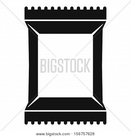 Napkins pack icon. Simple illustration of napkins pack vector icon for web