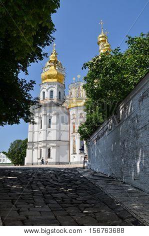 Kiev, Ukraine - June 6, 2013: Pechersk Lavra orthodox monastery