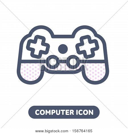 Vector Icon Game Pad Joystick