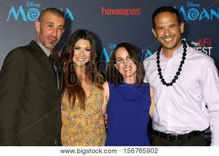 LOS ANGELES - NOV 14:  Guest, Cerina Vincent, Joe Nieves at the