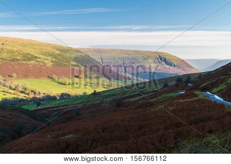 Evening In Mountain Valley, Britain