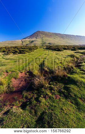 Hay Bluff, Penybegwn, Landmark In Wales.