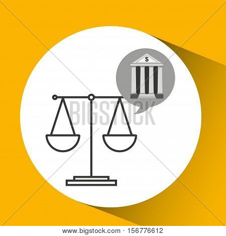 bank concept safe balance money icon vector illustration eps 10