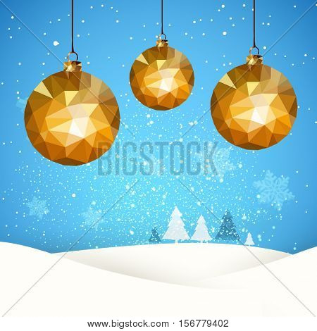 Christmas retro greeting card easy all editable