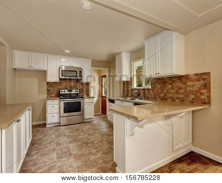American Classic Style Kitchen Room Interior