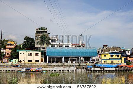 Slum Region In Manila, Philippines