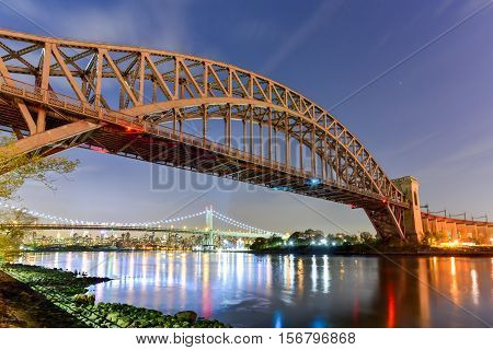 Hell Gate Bridge - New York City