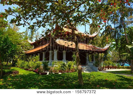A Vietnamese Temple in the city of Nha Trang.