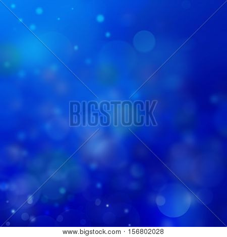 The bright transparent bubbles on a blue background.