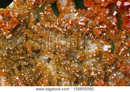 vanadinite specimen mineral the natural geology rock