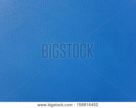 Blue Leatherette Texture Background