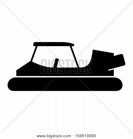 Golf cart hovercraft ( shade picture )