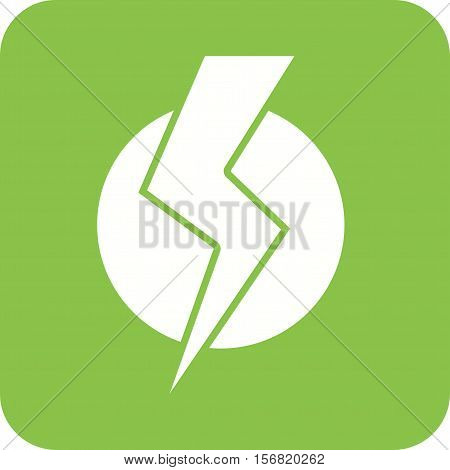 Electric, current, bolt icon vector image. Can also be used for Industrial Process. Suitable for mobile apps, web apps and print media.