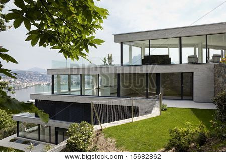 beautiful modern house