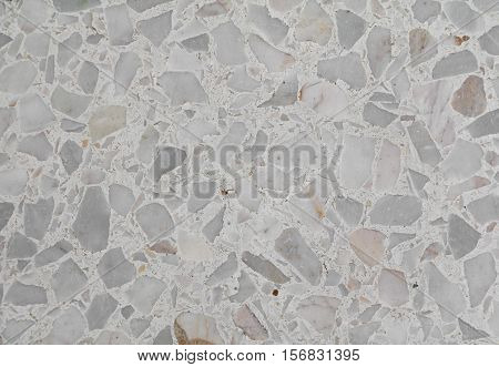 Terrazzo floor texture Marble surface Stone wall for background