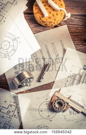 Classes On The Milling Cutters, Bearings And Mechanical Diagrams