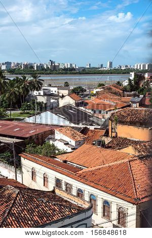 Historic city of Sao Luis Maranhao State Brazil