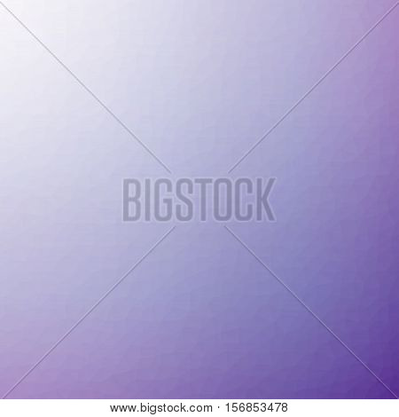 Low Poly Pattern Design. Small Cells. Vector Polygonal Background Filled With Dark Purple To Light P