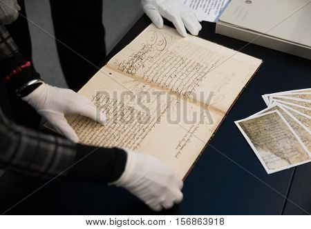 Documents Of Ukrainian Cossacks Stored In State Archive Of Sweden