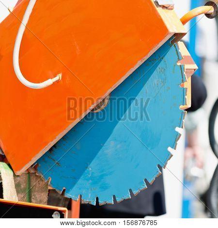 Industrial Clipper, color image, square image, machine