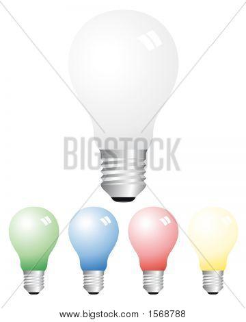 Opaque Light Bulbs