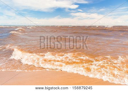 Shore Landscape Windy Holiday