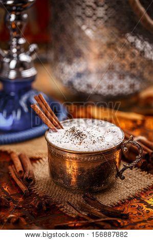 Chai, A Rich And Creamy Mixture