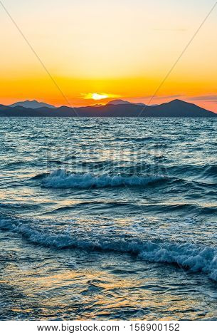 Greece Dodecanese the Pserimos island seen from Kos
