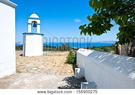 Greece Dodecanese Kos the Agios Dimitrios church in Zia village