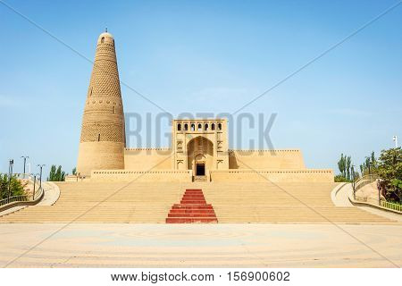 Emin Minaret And Mosque, Turpan, Xinjiang, China