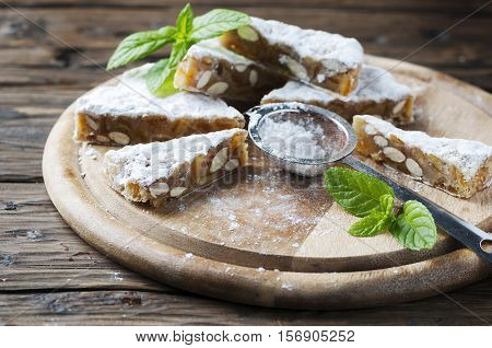Traditional Italian Dessert Panforte