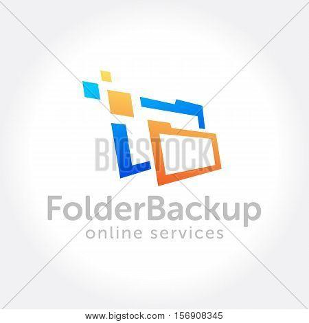 File Folder security backup, On line storage service