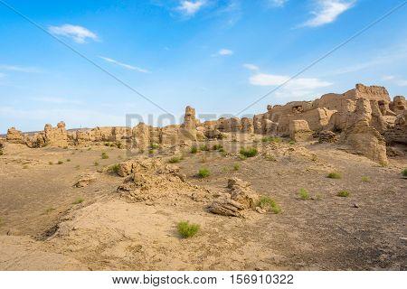 Jiaohe Ancient Ruins, Turpan, China